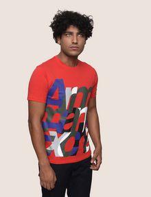 ARMANI EXCHANGE T-SHIRT CON STAMPA LOGATA Camiseta con logotipo Hombre f