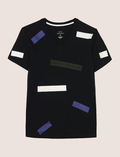 SCATTERED BLOCKS TEE
