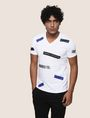 ARMANI EXCHANGE SCATTERED BLOCKS TEE Logo T-shirt Man f