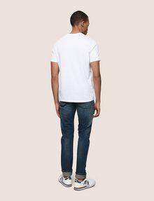 ARMANI EXCHANGE T-SHRT MIT MINIMALISTISCHEM FOLIENDESIGN Logo-T-Shirt Herren e