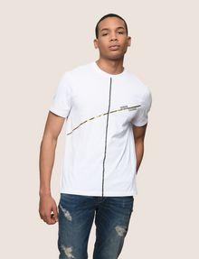 ARMANI EXCHANGE T-SHRT MIT MINIMALISTISCHEM FOLIENDESIGN Logo-T-Shirt Herren f
