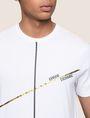 ARMANI EXCHANGE T-SHRT MIT MINIMALISTISCHEM FOLIENDESIGN Logo-T-Shirt Herren b