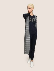 ARMANI EXCHANGE MAXI-CARDIGAN A RIGHE Strati [*** pickupInStoreShipping_info ***] d
