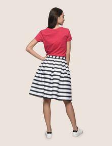 ARMANI EXCHANGE SWEATER-STRIPE JACQUARD SKIRT Midi Skirt Woman e
