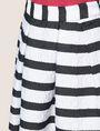 ARMANI EXCHANGE SWEATER-STRIPE JACQUARD SKIRT Midi Skirt Woman b