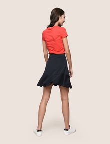 ARMANI EXCHANGE SCALLOPED HEM MINI SKIRT Mini skirt Woman e