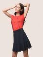 ARMANI EXCHANGE SCALLOPED HEM MINI SKIRT Mini skirt Woman a