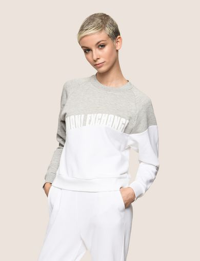 PIECED WAVE SWEATSHIRT TOP