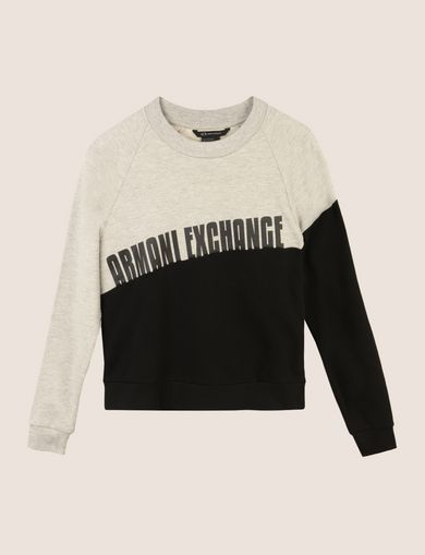 ARMANI EXCHANGE Fleece-Top Damen R
