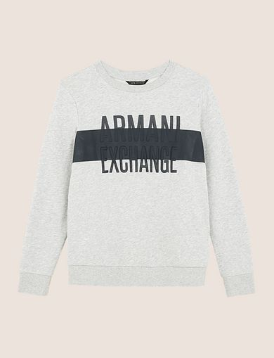 PUFF LOGO SWEATSHIRT TOP