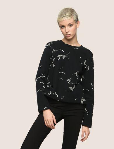ARMANI EXCHANGE Top de lana Mujer F