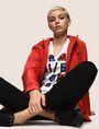 ARMANI EXCHANGE BLOCK LETTER V-NECK TEE Logo T-shirt Woman a