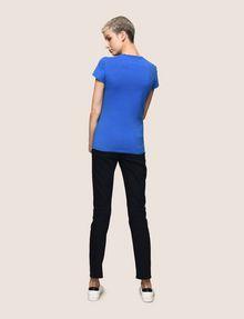 ARMANI EXCHANGE GLITTER JACKPOT LOGO TEE Logo T-shirt Woman e