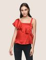 ARMANI EXCHANGE Solid Top Woman f