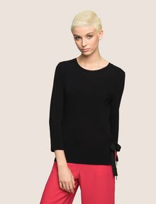 ARMANI EXCHANGE TIE-SIDE LAYERING TOP S/L Knit Top Woman f