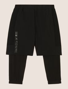 ARMANI EXCHANGE SHORTS MIT INTEGRIERTER LEGGINGS Fleece-Hose [*** pickupInStoreShippingNotGuaranteed_info ***] r