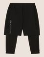 ARMANI EXCHANGE SHORTS MIT INTEGRIERTER LEGGINGS Fleece-Hose Herren r