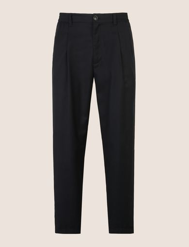 PLEATED PULL-ON TROUSER