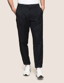 ARMANI EXCHANGE PLEATED PULL-ON TROUSER Dress Pant Man f