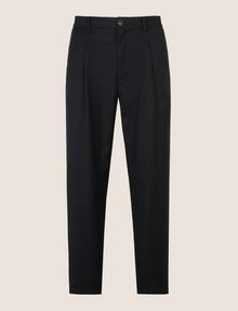 ARMANI EXCHANGE PLEATED PULL-ON TROUSER Dress Pant Man r