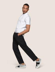ARMANI EXCHANGE PLEATED PULL-ON TROUSER Jogger Man a