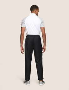 ARMANI EXCHANGE PLEATED PULL-ON TROUSER Jogger Man e