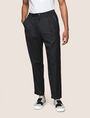 ARMANI EXCHANGE PLEATED PULL-ON TROUSER Jogger Man f