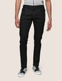 ARMANI EXCHANGE DISTRESSED COATED SKINNY JEANS Skinny jeans Man f