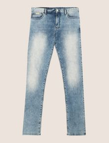 ARMANI EXCHANGE ACID WASH LIGHT SKINNY JEANS Skinny jeans Man r