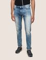 ARMANI EXCHANGE ACID WASH LIGHT SKINNY JEANS Skinny jeans Man f