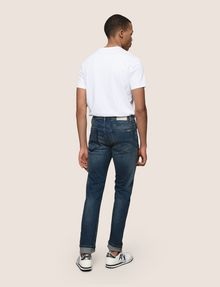 ARMANI EXCHANGE SLIM-FIT DESTROYED AND PATCHED JEANS Slim fit JEANS Man e