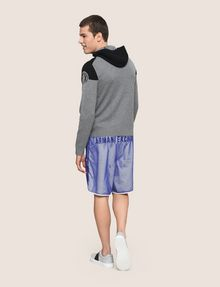 ARMANI EXCHANGE COLORBLOCK LOGO HOODIE SWEATER Layering Man e