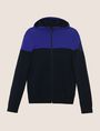 ARMANI EXCHANGE COLORBLOCK LOGO HOODIE SWEATER Layering Man r