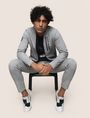 ARMANI EXCHANGE VERTICAL LOGO ZIP-UP JACKET Fleece Jacket Man a