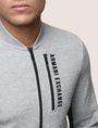 ARMANI EXCHANGE ジップアップ スウェットブルゾン フリースジャケット メンズ b