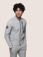 ARMANI EXCHANGE VERTICAL LOGO ZIP-UP JACKET Fleece Jacket Man f