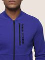 ARMANI EXCHANGE VERTICAL LOGO ZIP-UP JACKET Fleece Jacket Man b