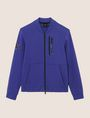 ARMANI EXCHANGE VERTICAL LOGO ZIP-UP JACKET Fleece Jacket Man r