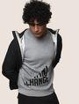 ARMANI EXCHANGE SLASH LOGO SWEATSHIRT TOP Fleece Top Man a