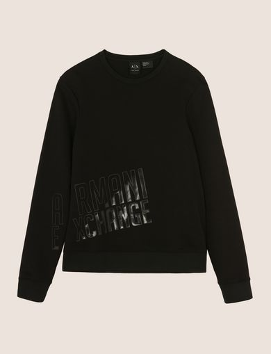 SLASH LOGO SWEATSHIRT TOP