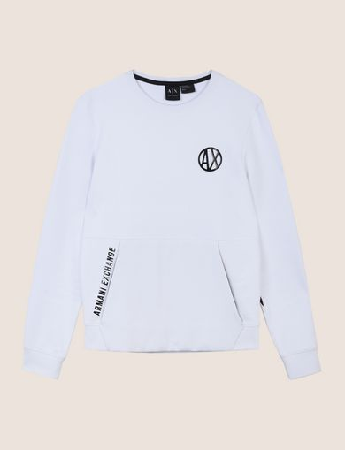 PLACED PRINT COLORBLOCK SWEATSHIRT