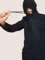 ARMANI EXCHANGE TONAL BOXED LOGO HOODIE Hoodie Man a