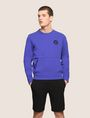 ARMANI EXCHANGE PLACED PRINT COLORBLOCK SWEATSHIRT Fleece Top Man f