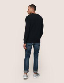 ARMANI EXCHANGE TEXTURED STITCH CREWNECK SWEATER Pullover Man d