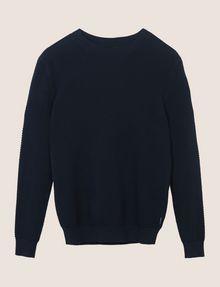 ARMANI EXCHANGE TEXTURED STITCH CREWNECK SWEATER Pullover Man r