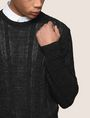 ARMANI EXCHANGE OPEN-KNIT STRIPE SWEATER Pullover Man b