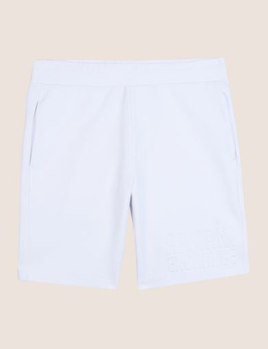 TONAL EMBOSSED SWEATSHORTS