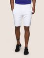 ARMANI EXCHANGE TONAL EMBOSSED SWEATSHORTS Fleece Short Man f