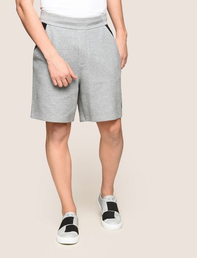CIRCLE LOGO COLORBLOCK SWEATSHORTS