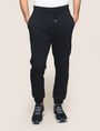 ARMANI EXCHANGE TONAL LOGO BACK JOGGER Fleece Pant Man f